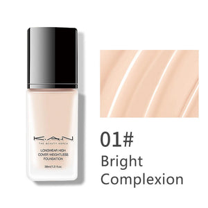 M Water Light Liquid Foundation Concealer Moisturizing BB Cream Waterproof(COD) - Yinaje