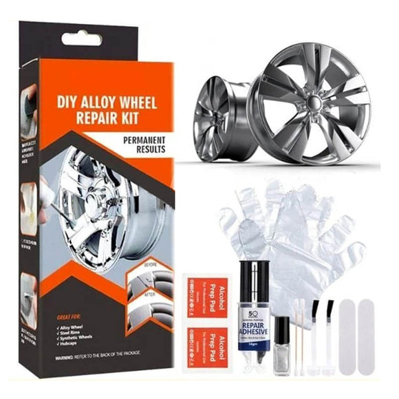 N  ALLOYWELD DIY ALLOY WHEEL REPAIR KIT(COD) - Yinaje