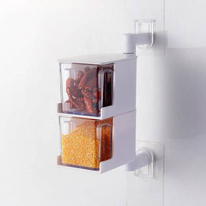 M 360-Degree Rotating Seasoning Box(COD) - Yinaje