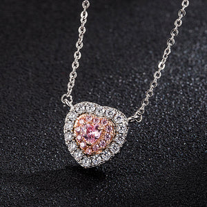 K Pink love necklace (COD)