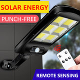 N Solar rechargeable LED light(COD) - Yinaje