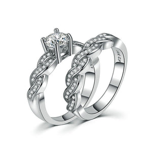 K Men and women couple ring set (COD)