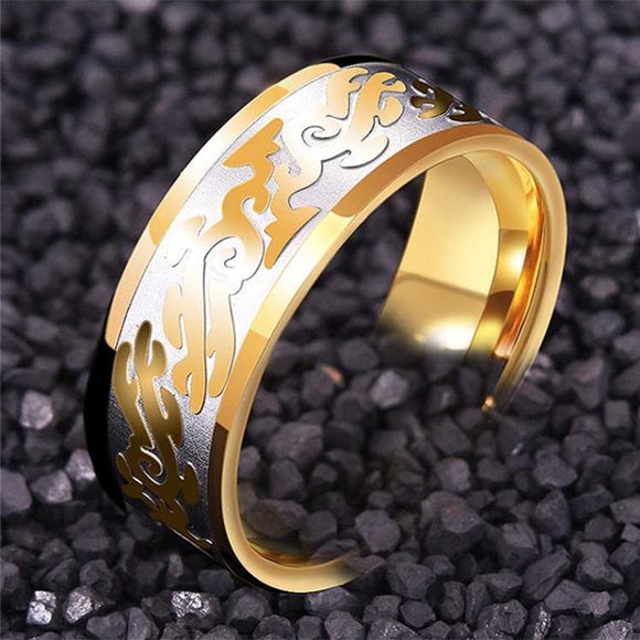 M Fashion Cool Domineering Dragon Ring (COD)