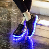 T LED Light Shoes (COD) - Yinaje