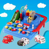 T educational big adventure track car Toy Set(COD) - Yinaje