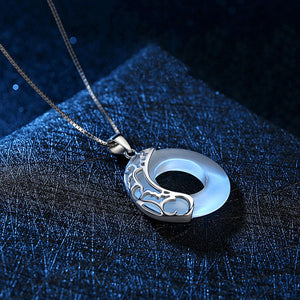 M【Buy 1 Free 1】Love Gift Wishful Peace Buckle Necklace(COD)