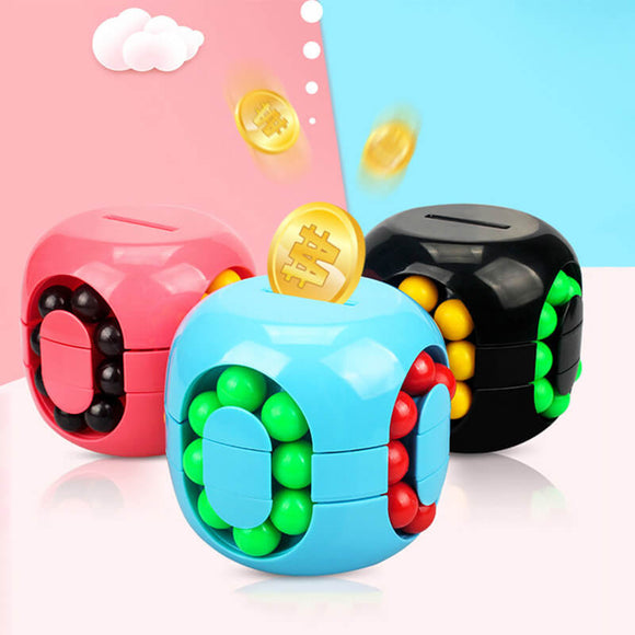 T Mini Coin Bank Rubik's Cube Toy(COD) - Yinaje