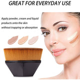 M 【Buy 1 free 1】High-Density Seamless Foundation Brush(COD) - Yinaje