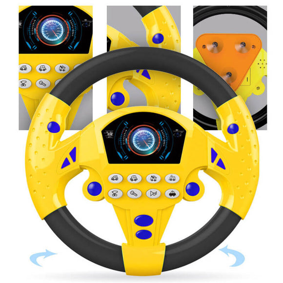 T Baby Steering Wheel toy(COD) - Yinaje