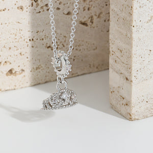S Crystal Crown Necklace (COD)