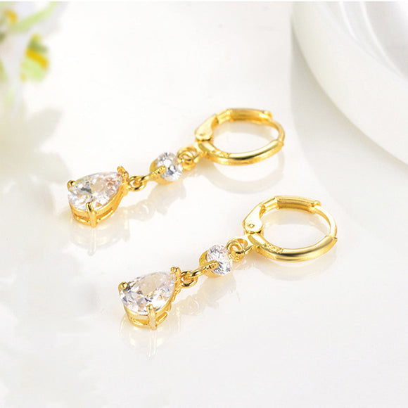 M 【Buy 1 Free 1】Creative Personality Fashion Drop-shaped Earrings (COD)