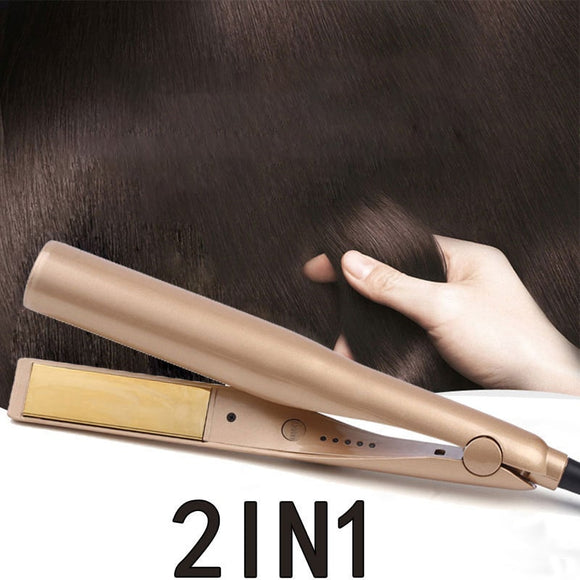 M 2 in 1 Hair Curler and Straightener(COD) - Yinaje