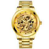 M Dragon Luxury Gold Watch【Cash on delivery】 - Yinaje