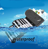M Portable 49 Keys Flexible Roll Up Electronic Piano【Cash on delivery】 - Yinaje