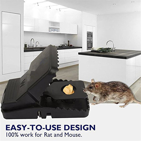 M【Buy 1 Free 1】Reusable Powerful Rodent Killer Mouse Trap【Cash on delivery】 - Yinaje
