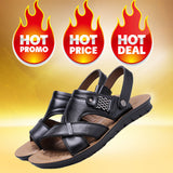 M Summer Casual Male Leather Breathable Soft Sandals【Cash on delivery】 - Yinaje