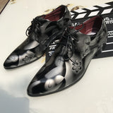 M Shoes For Pointed Korean Fashion British Big Size【Cash on delivery】 - Yinaje