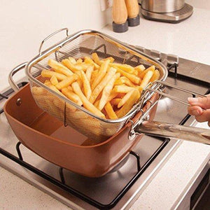 N  Multifunctional pot cooking and frying pan - Yinaje