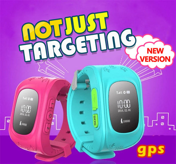 M Anti Lost Children Kids Smart GPS+LBS+WIFI Tracker Wrist Watch SOS Call Phone 【Cash on delivery】 - Yinaje