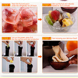 M Home Automatic Fruit Children  DIY Family Ice Cream Maker Machine【Cash on delivery】 - Yinaje