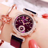 M Goddess High Value Diamond Lady Watch(COD) - Yinaje