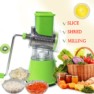 M 2018 home multi-function roller chopper【Cash on delivery】 - Yinaje