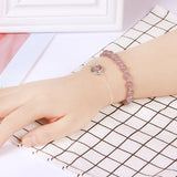 M Luck In Love Crystal Bracelet【Cash on delivery】 - Yinaje