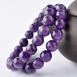 M Lucky God Royal Amethyst Bracelet - Yinaje