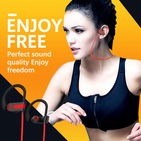 M Ear-hook Wireless Bluetooth Stereo 4.1 Earphone【Cash On Delivery】 - Yinaje