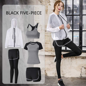 M Yoga Clothing Five-piece Set【Cash On Delivery】 - Yinaje