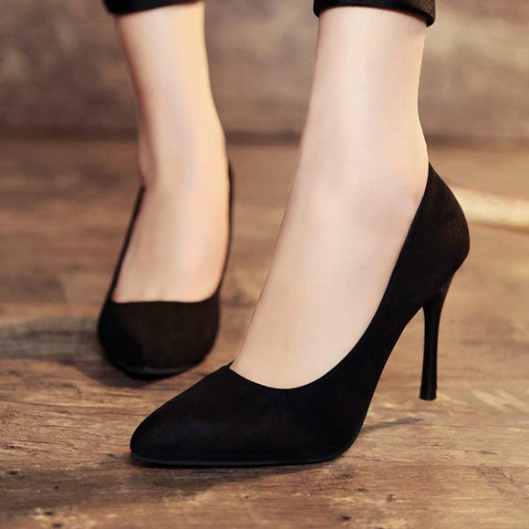 M New Pointed Sexy Fashion High Heels【Cash on delivery】 - Yinaje