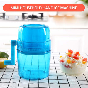E Mini household hand ice machine【Cash On Delivery】 - Yinaje