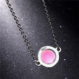M Laser Necklace【Cash On Delivery】 - Yinaje