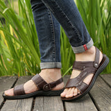 T men Leather Sandals(COD) - Yinaje