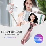 M Selfie Stick with Led Light【Cash On Delivery】 - Yinaje