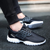M Men's Running Mesh Lightweight Breathable Shoes【Cash On Delivery】 - Yinaje