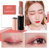 M (7 Colors )Korean Velvet Gradient Double-color Eyeshadow Stick(COD) - Yinaje