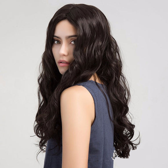 M Fashionable Charming Long Curly Wavy Wig【Cash on delivery】 - Yinaje