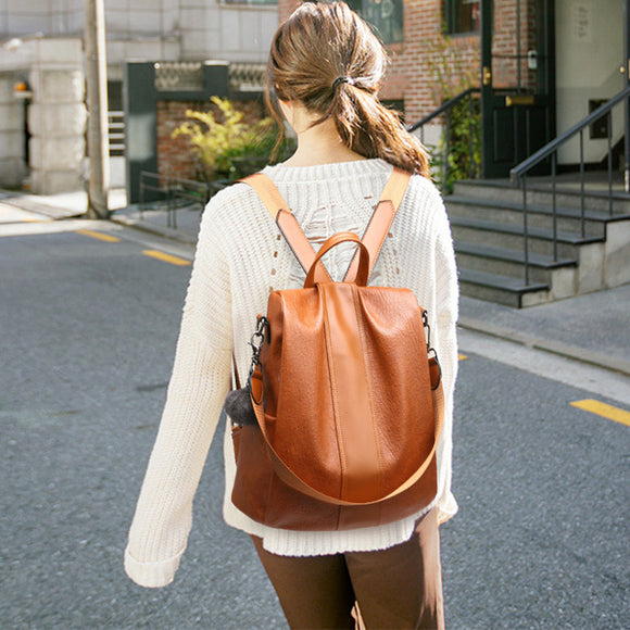 E New Korean fashion ladies backpack【Cash On Delivery】 - Yinaje