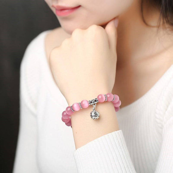 E Natural cat eye stone bracelet【Cash On Delivery】 - Yinaje