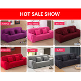M[Hot Sale] Nordic style universal sofa cover, super-elastic knitted fabric, waterproof, oil-proof and stain-proof, suitable for all kinds of sofas. - Yinaje