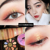 T Colorful shine 11 color eyeshadow(COD) - Yinaje