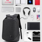 M 2018 Three-dimensional digital storage anti-theft outdoor USB charging bag【Cash on delivery】 - Yinaje