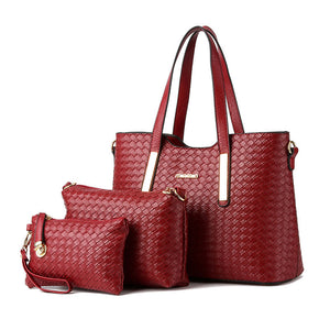 M Women's Bag Three-piece【Cash on delivery】 - Yinaje