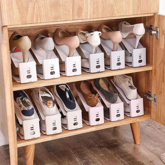M Double storage shoe rack【Cash On Delivery】 - Yinaje