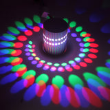 M Colorful led aluminum spiral hole wall lamp【Cash on delivery】 - Yinaje