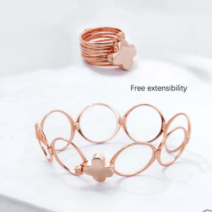 T Hot style hipster rings can be changed into bracelets【Cash On Delivery】 - Yinaje
