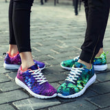 M Trend camouflage mesh breathable sports couples shoes【Cash on delivery】 - Yinaje