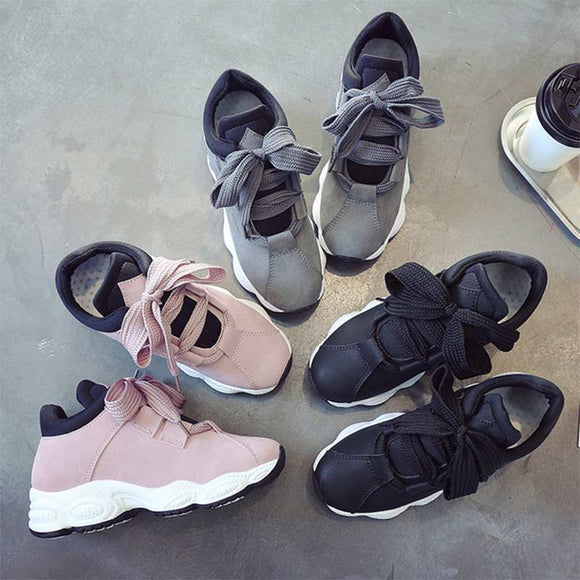 E Korean women's sneakers【Cash On Delivery】 - Yinaje