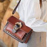 M Fashion retro small square Bag【Cash on delivery】 - Yinaje